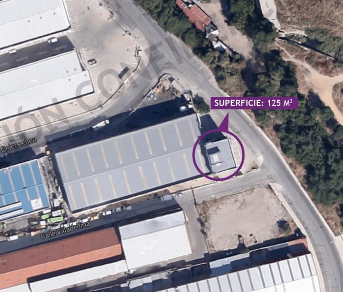 Oficinas Coslada Madrid - Superficie