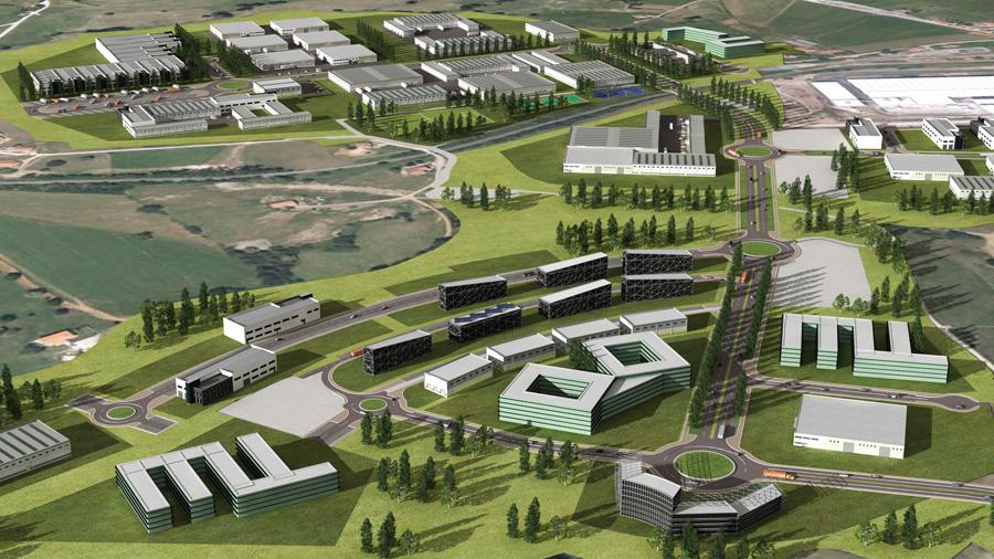 Distrito Industrial de Marina de Cudeyo y Medio Cudeyo, Santander